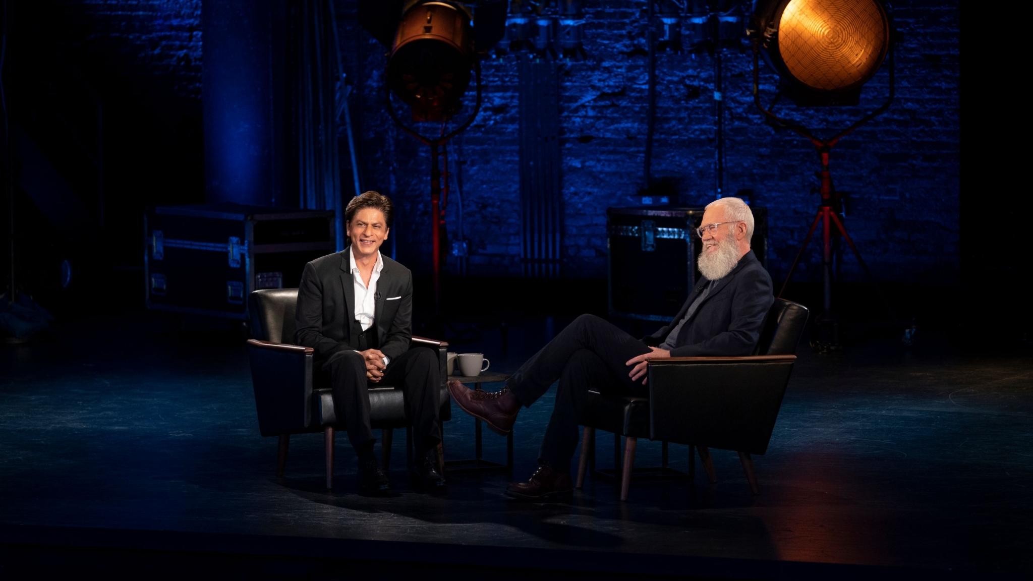 SRK, Gauri, David Letterman Sit Down for a Meal in Netflix Trailer