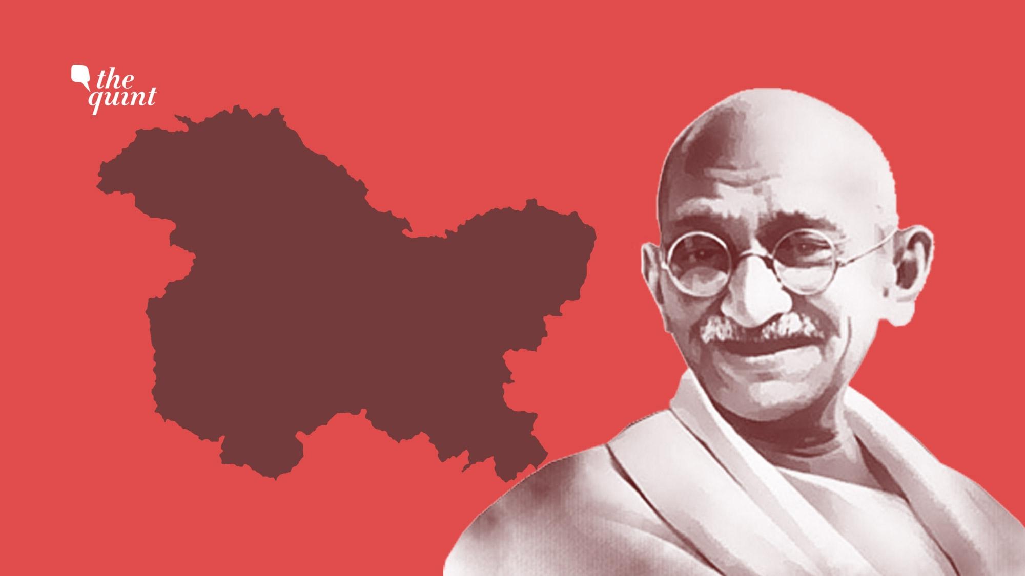 Gandhi's 'Solution' to Kashmir Dispute? India-Pakistan 'Alliance'