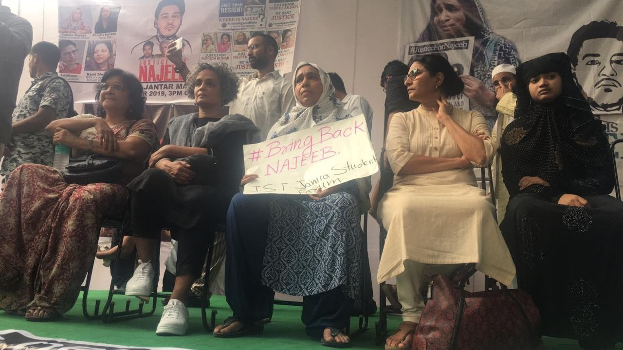 'Where Is Najeeb?': 3 Yrs On, Najeeb's Mother Leads March in Delhi