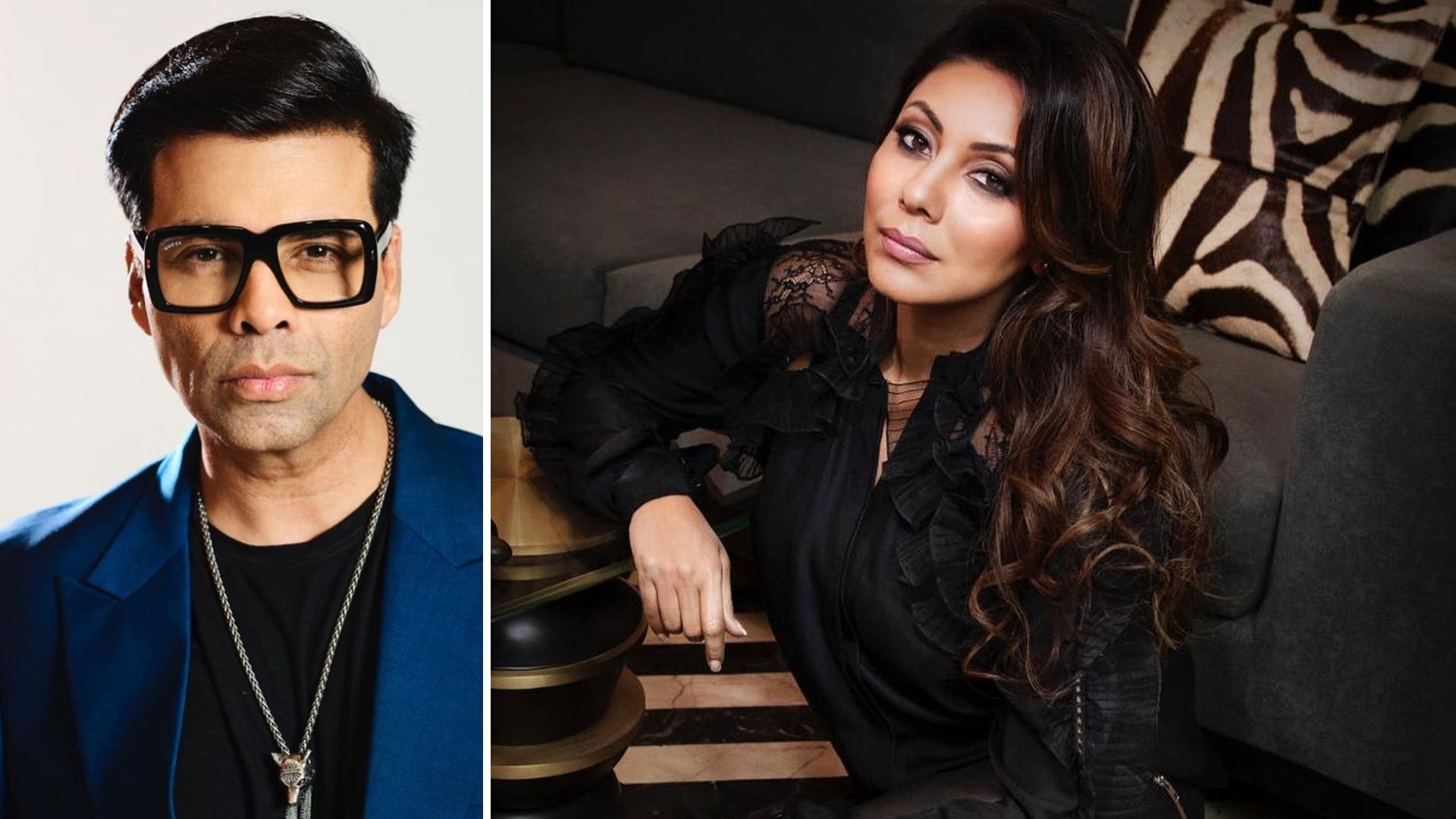 """KJo Wishes His """"Support System"""" Gauri Khan on Her Birthday"""