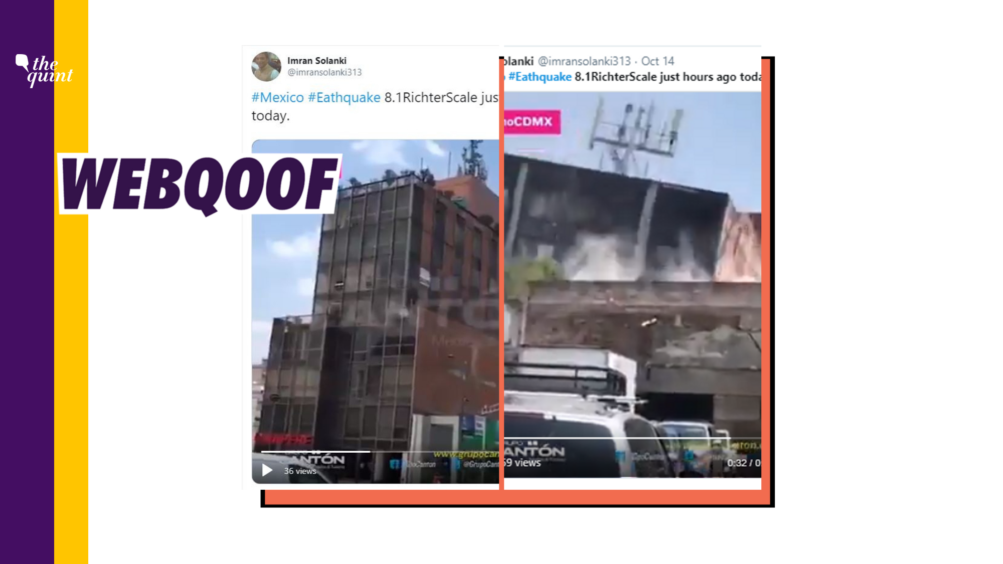 Old Video of Deadly 2017 Earthquake in Mexico Shared As Recent