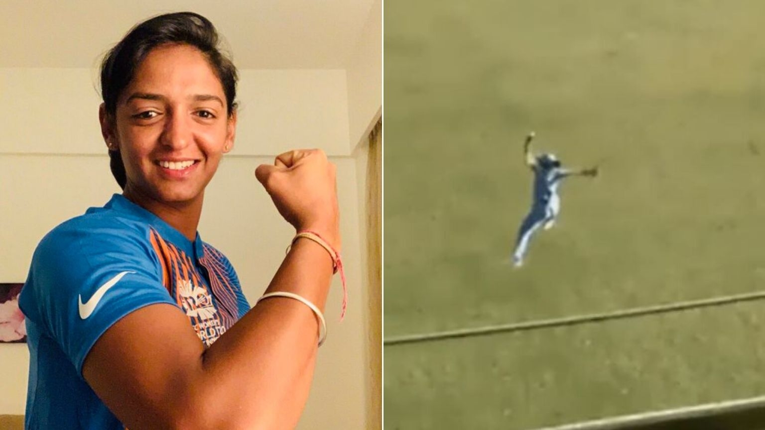 Twitter Goes Wild as Harmanpreet Pulls Off One-Handed Catch