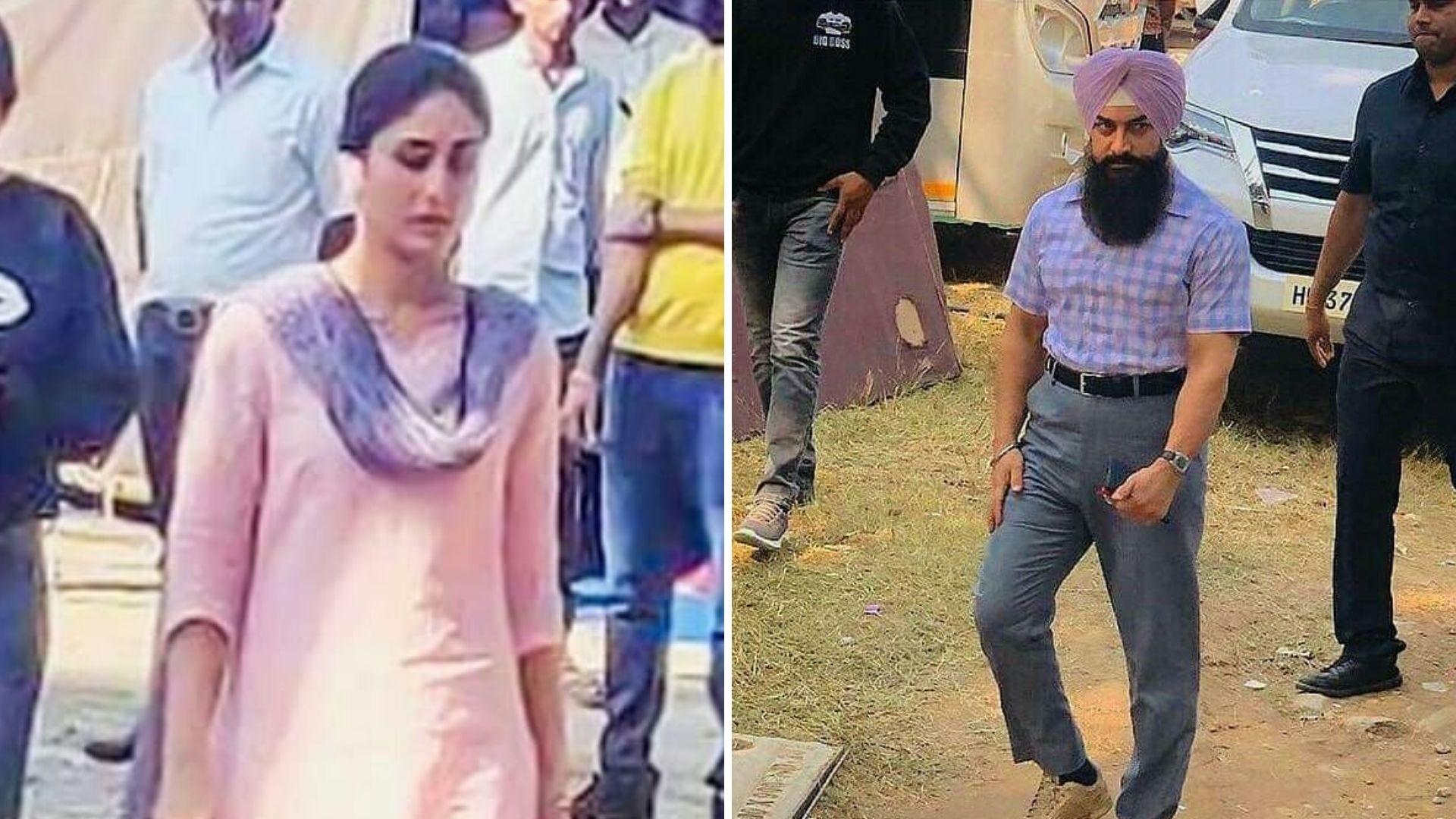 Aamir Khan and Kareena Kapoor's Look From 'Laal Singh ...