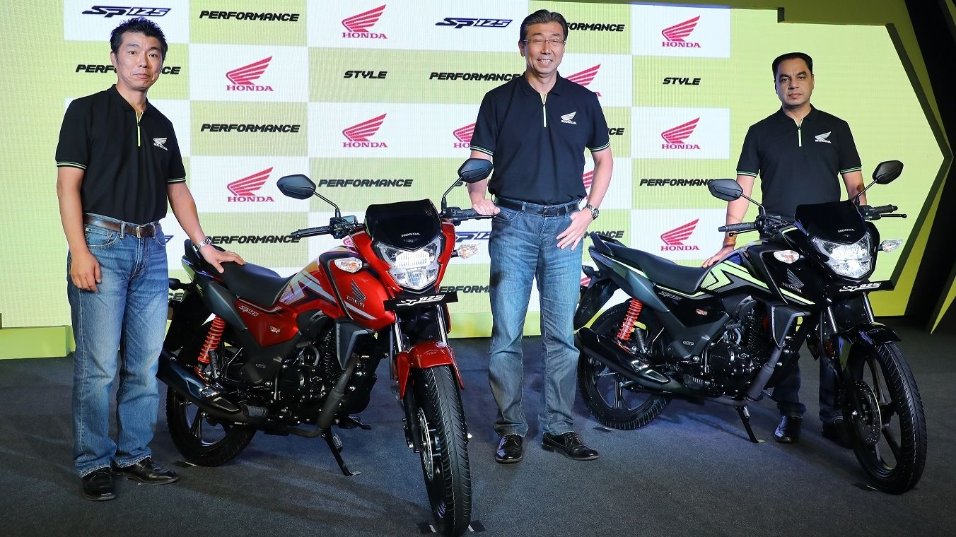 Honda Launches SP125 Bike With BS-6 Engine & Silent Start Feature