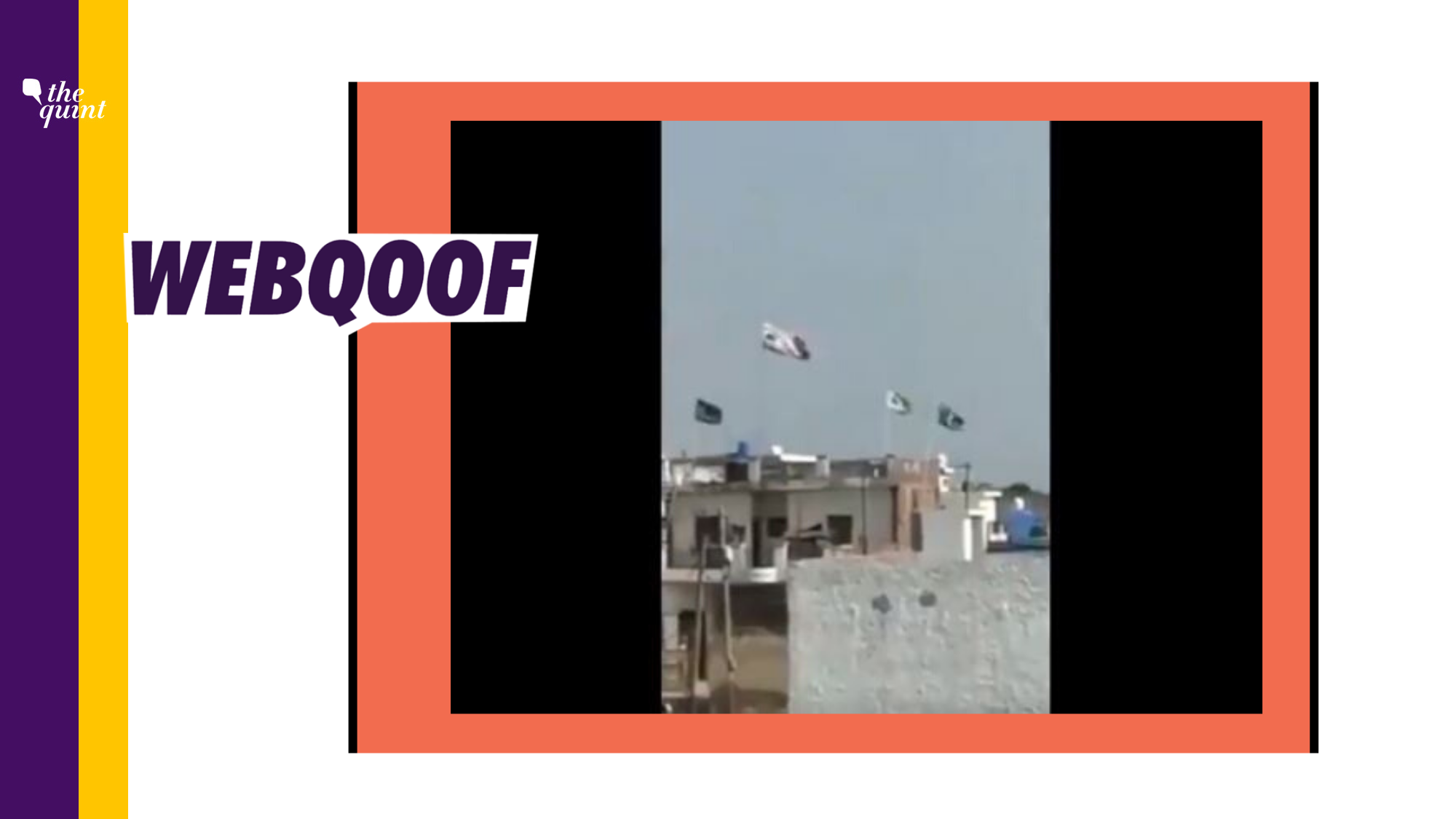 Islamic Flags in Jalandhar Passed Off as Pakistani Flags in Video