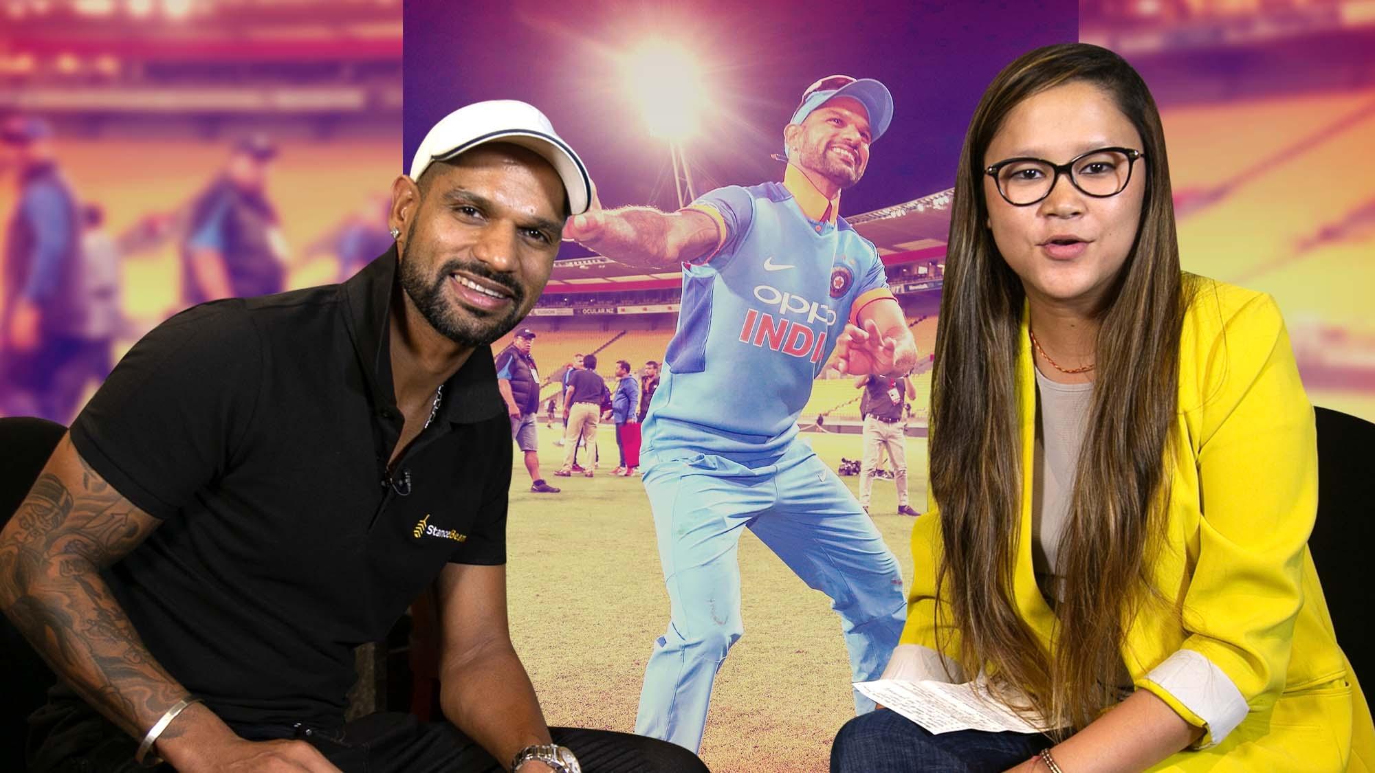 Shikhar Dhawan – The Happy Cricketer