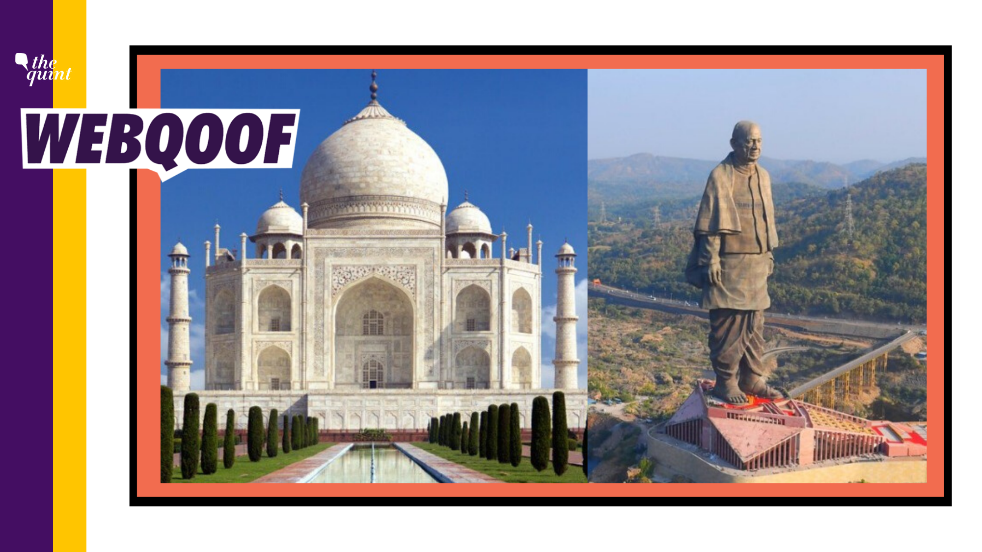 Statue of Unity Earned Thrice As Much As Taj Mahal? Claim Is False