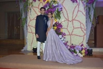 B-Town adds glitz at wedding reception of Sooraj Barjatya's son