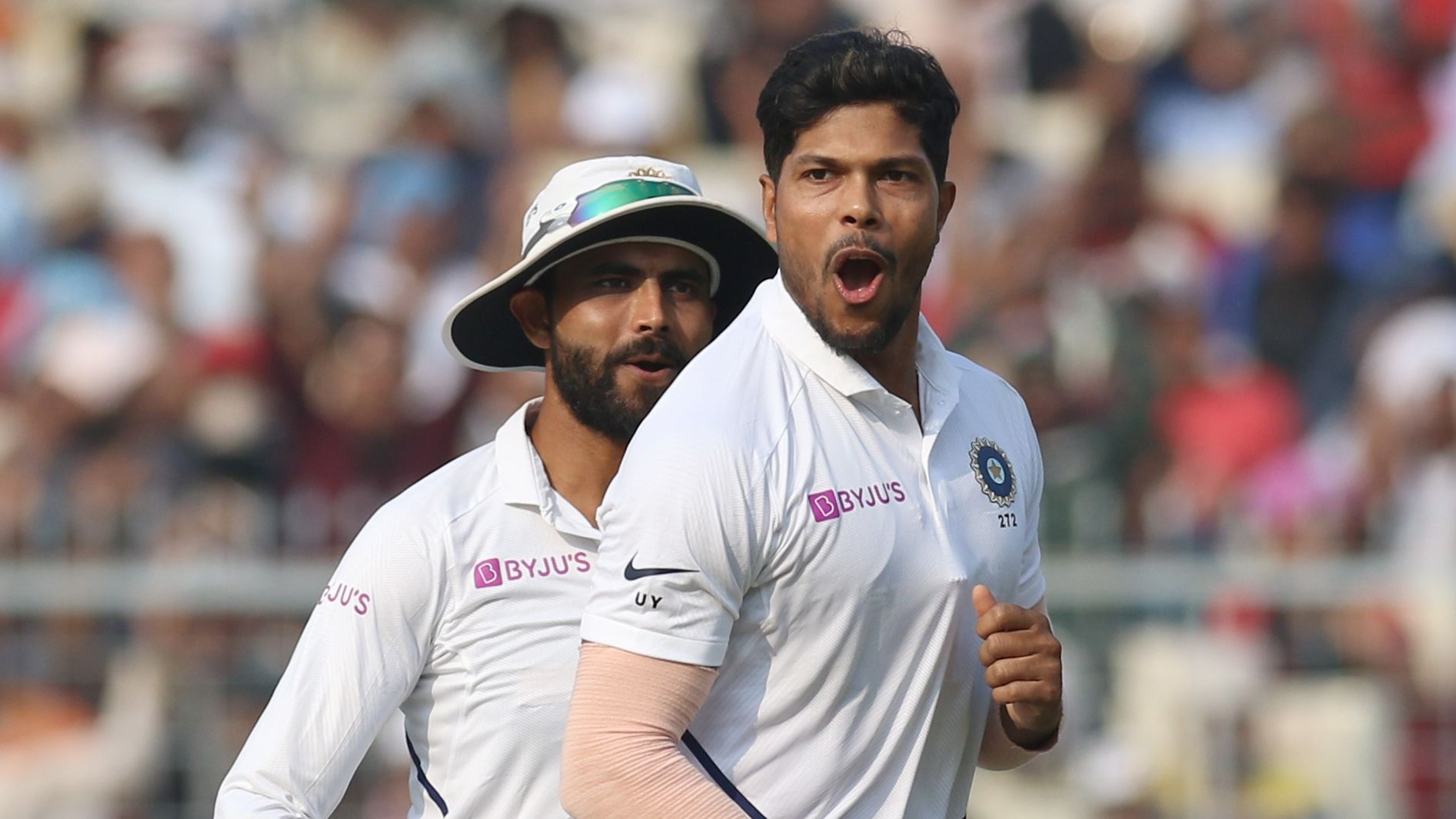 Image result for Umesh Yadav Pink Ball Test