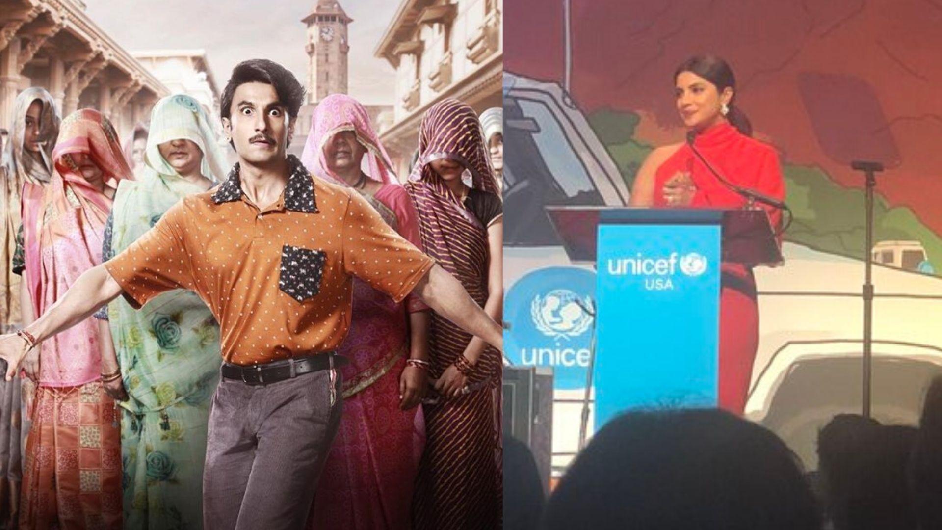QuickE: Ranveer in 'Jayeshbhai Jordaar'; PeeCee Wins UNICEF Award