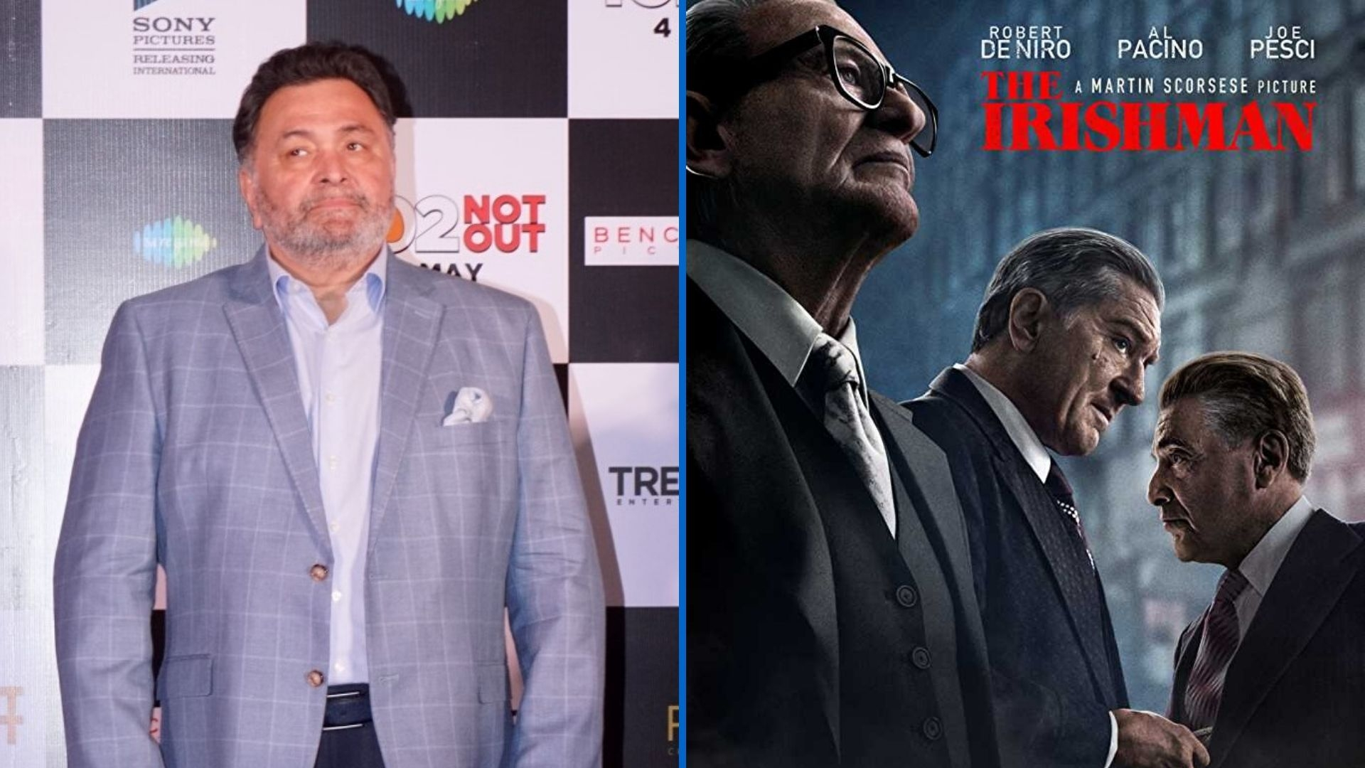 Don't Take My Views on 'The Irishman' Personally, Rishi Tells Fans