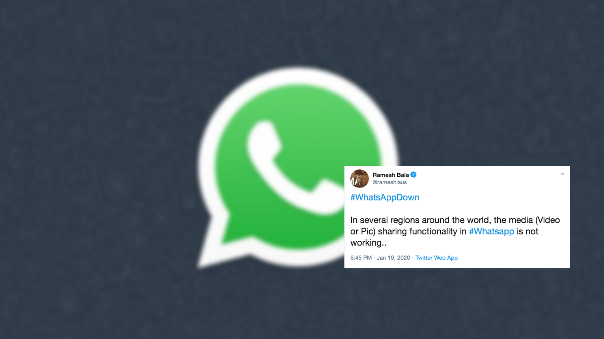 WhatsApp Down As Twitter Pokes Fun At The Messaging App