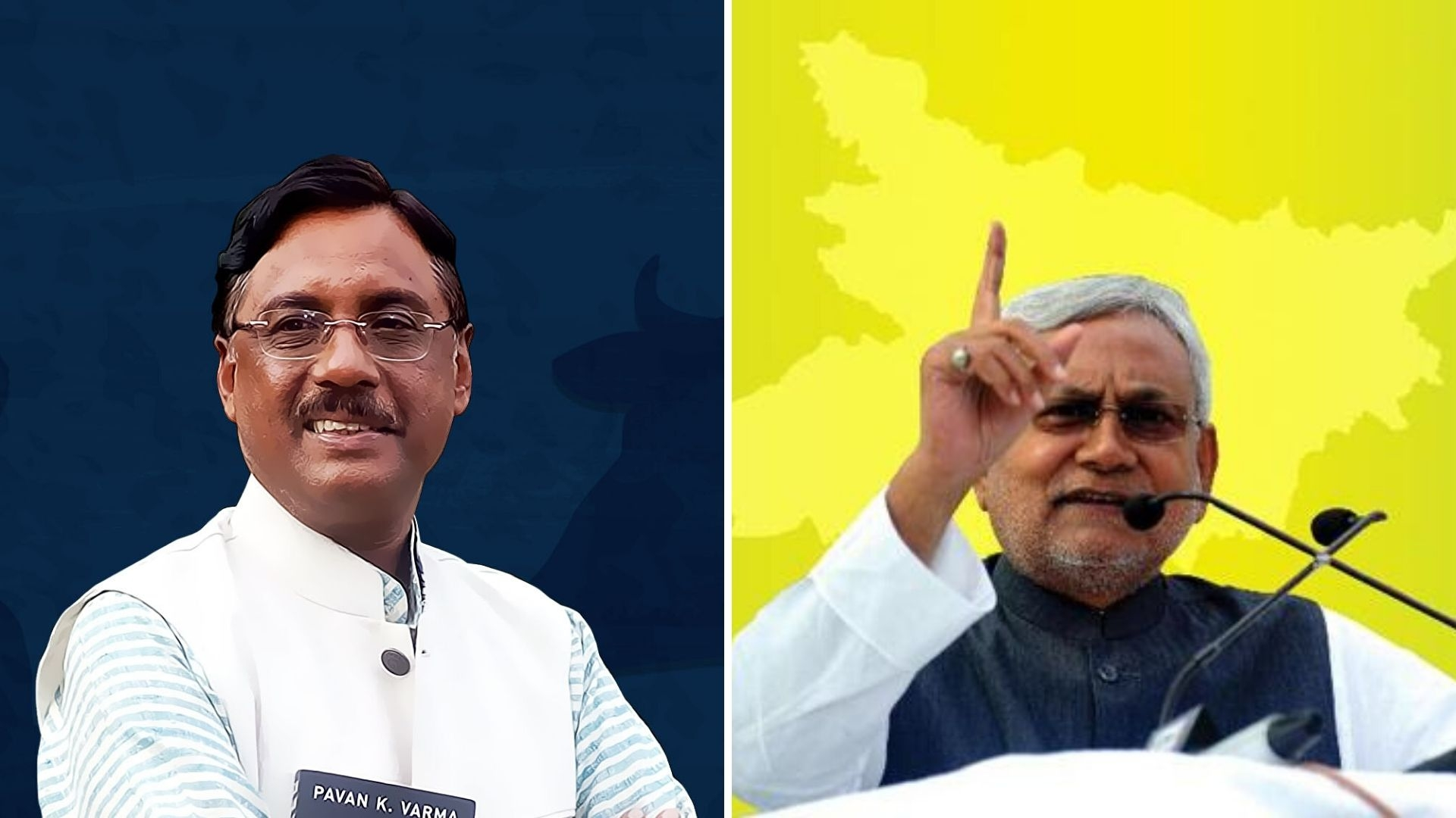 Pavan Varma Questions BJP Alliance in Open Letter to Nitish Kumar