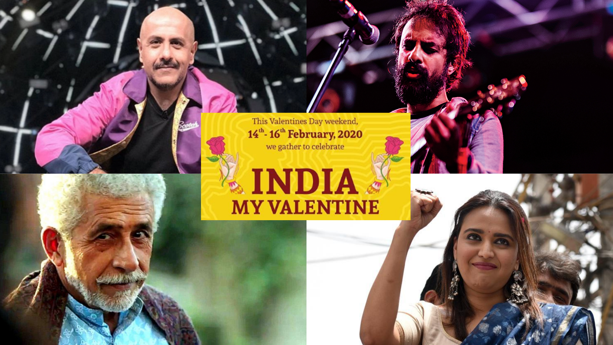 On Valentine's Day Weekend, Artists Unite to Cherish Idea of India