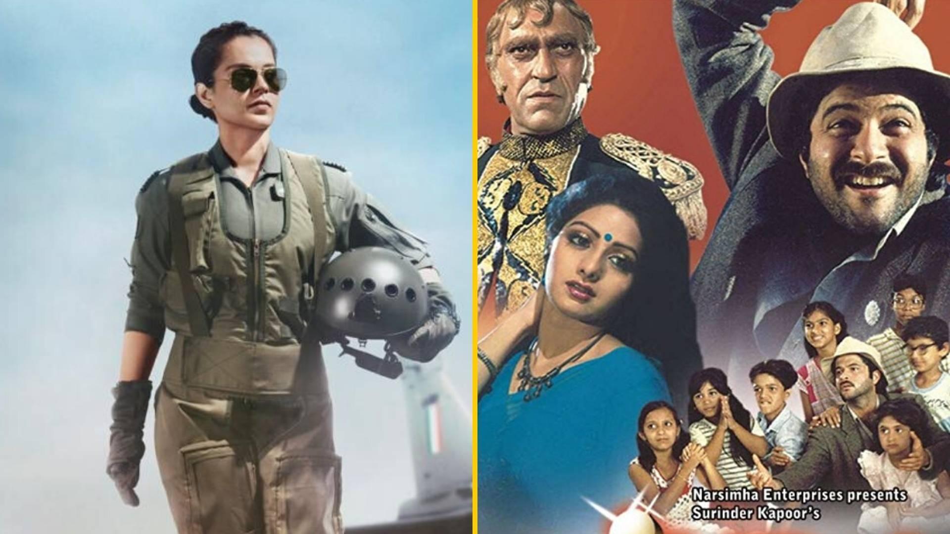 QuickE: Kangana as IAF Pilot in 'Tejas'; 'Mr India' Trilogy