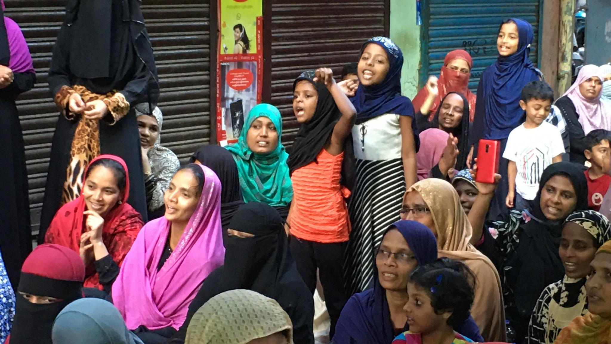 In Pics: Chennai's Own Shaheen Bagh Against CAA – 'Shaheenpet'
