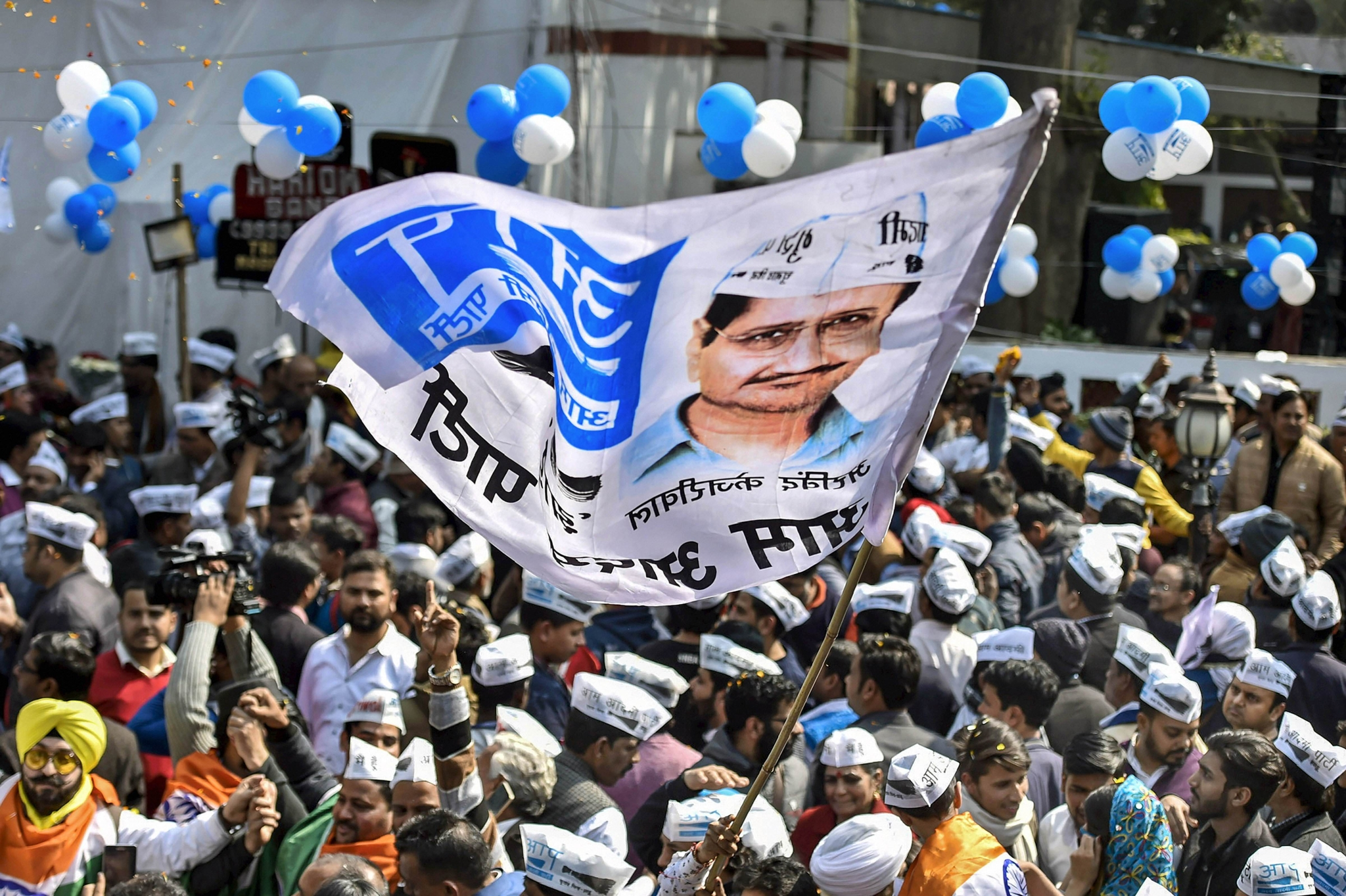 AAP Turns Focus on UP, Says Will Contest Panchayat Polls This Year