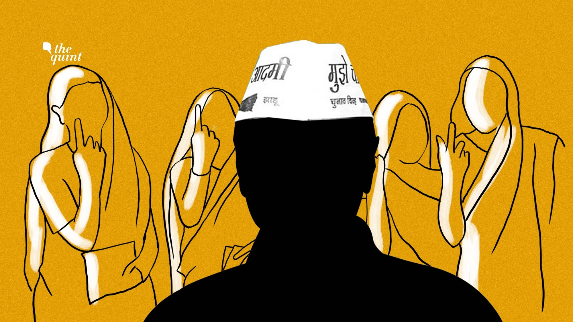 Women Voted AAP To Power, But No Women In Kejriwal's New Cabinet