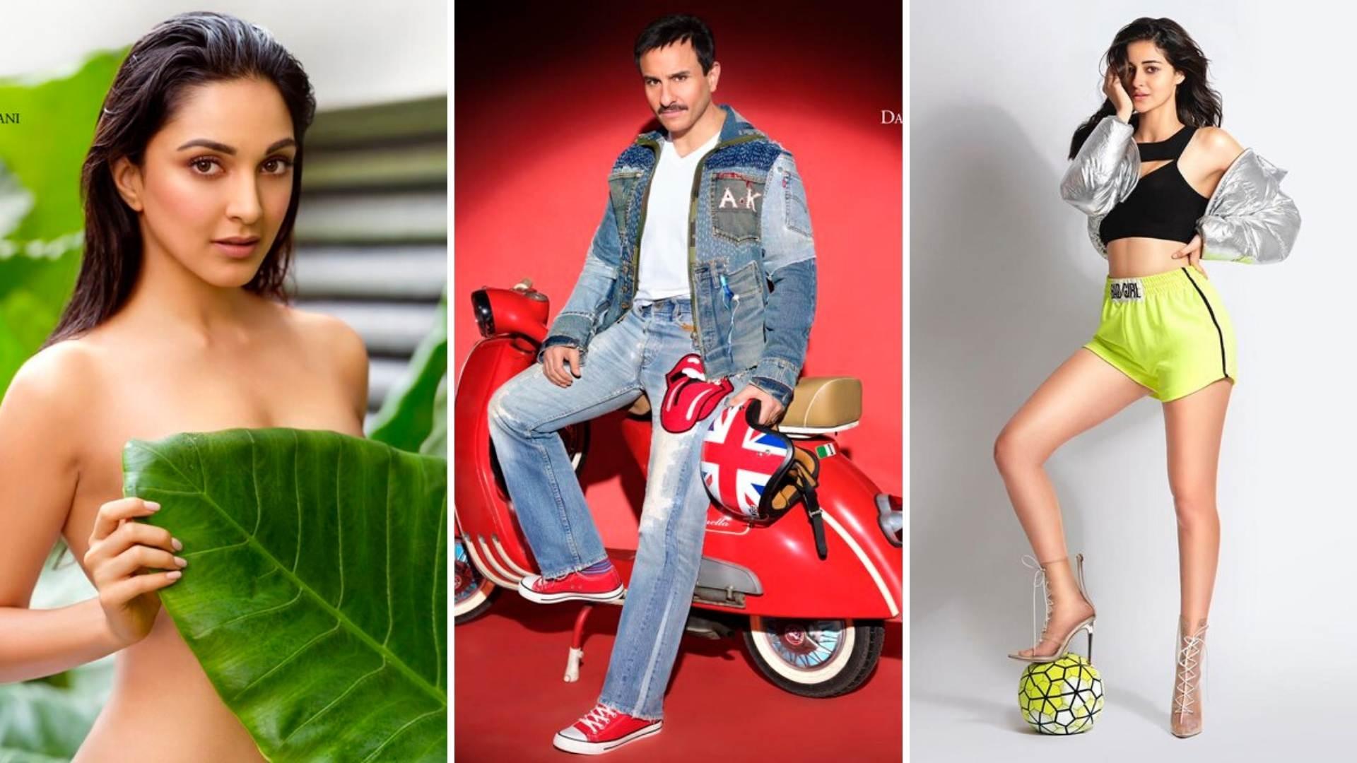 Pics: Kiara, Saif, Ananya for Dabboo Ratnani Calendar 2020