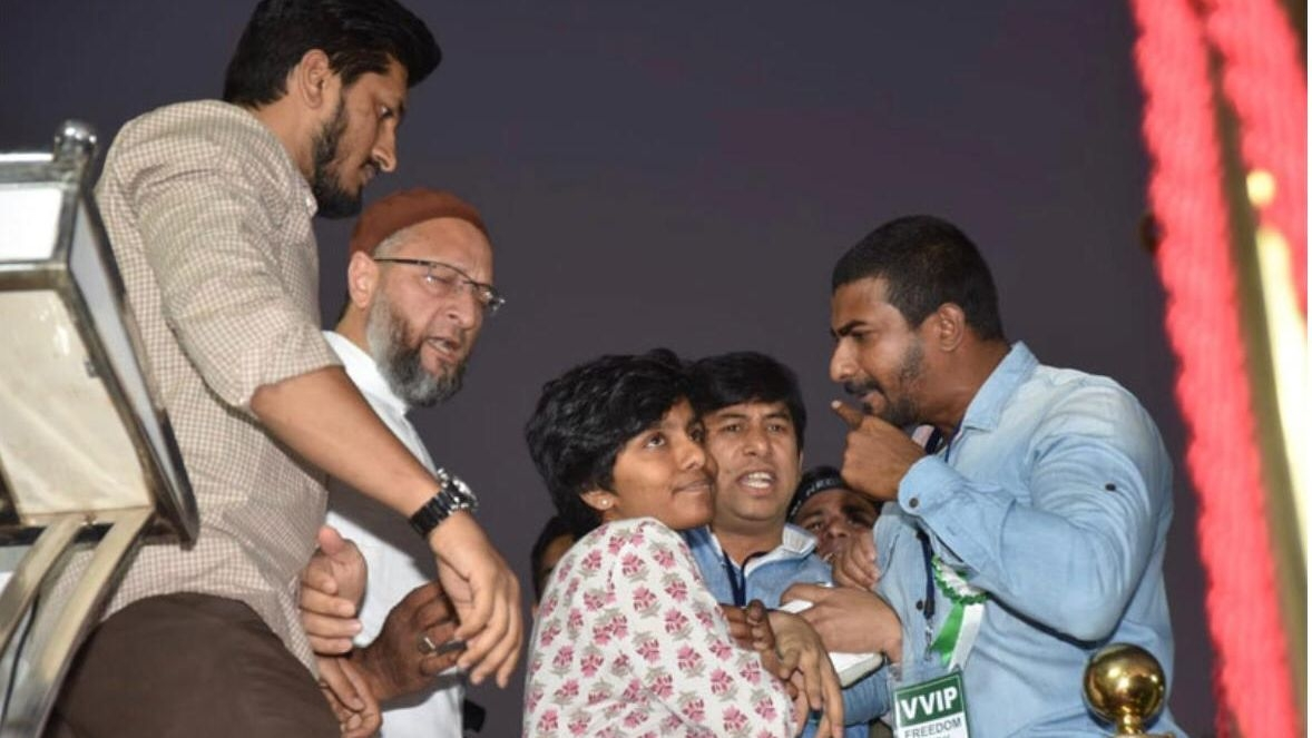 Mob Vandalises Woman's House Over Pro-Pak Slogan at Owaisi Event