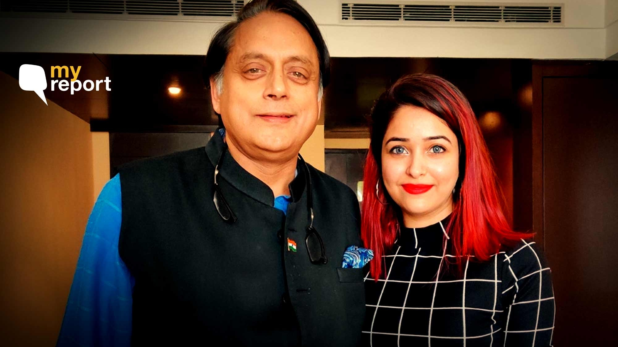 Trolls Misusing My Photo With Tharoor – Take Your Sexism Elsewhere