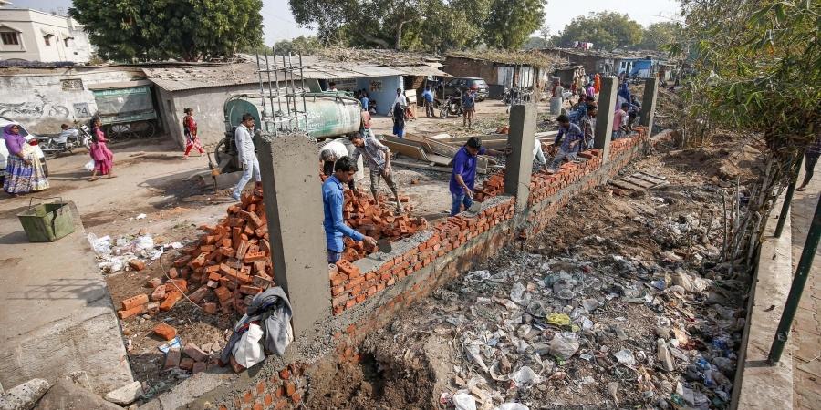 Slum Residents Served Eviction Notice Ahead of Trump Visit