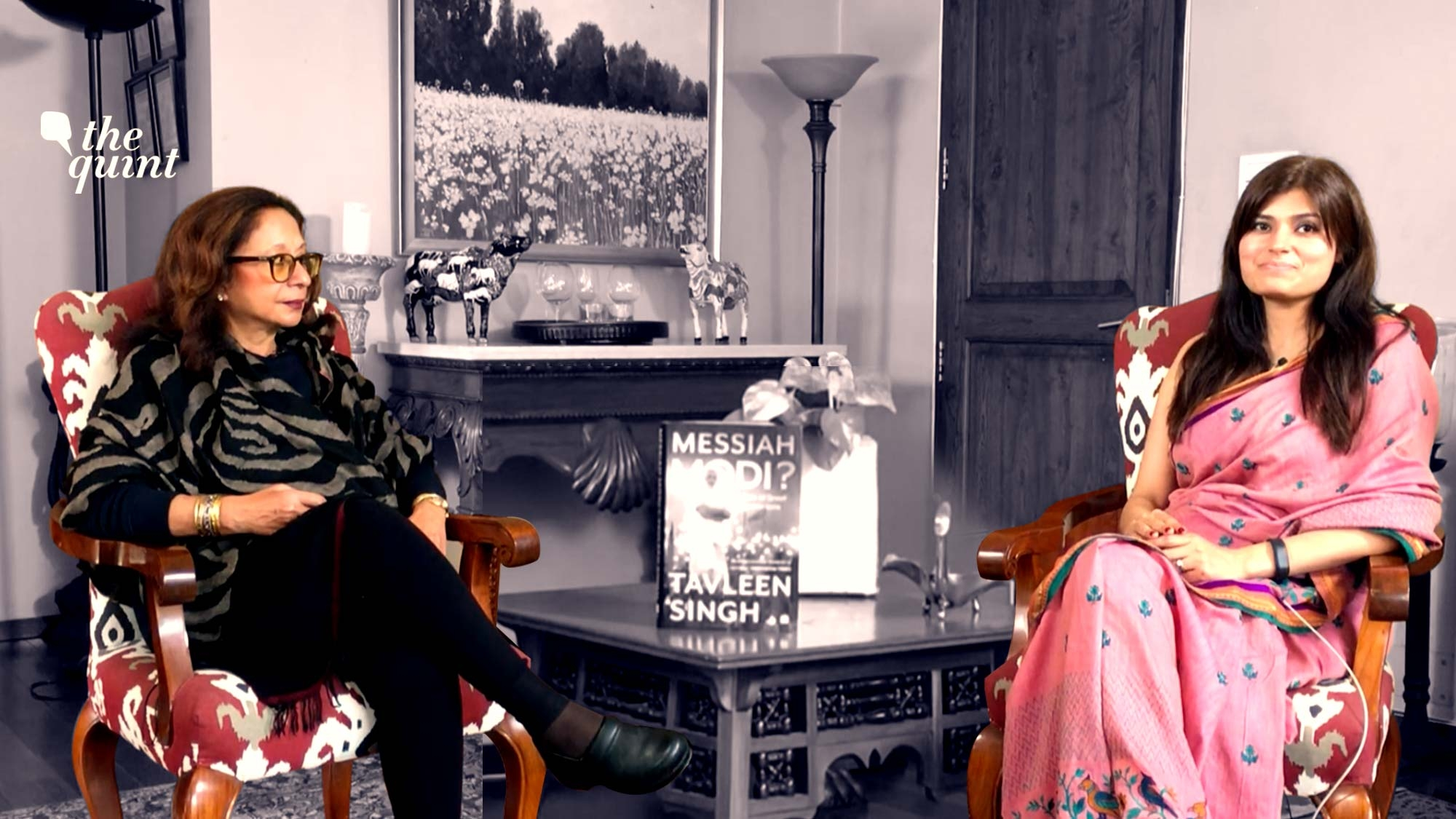 Tavleen Singh Gets Candid About Modi, Amit Shah and Aatish Taseer