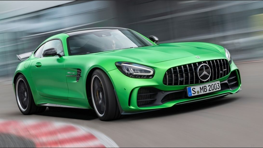 Mercedes-Benz Launches AMG C63 Coupe and 2020 AMG GT R in India
