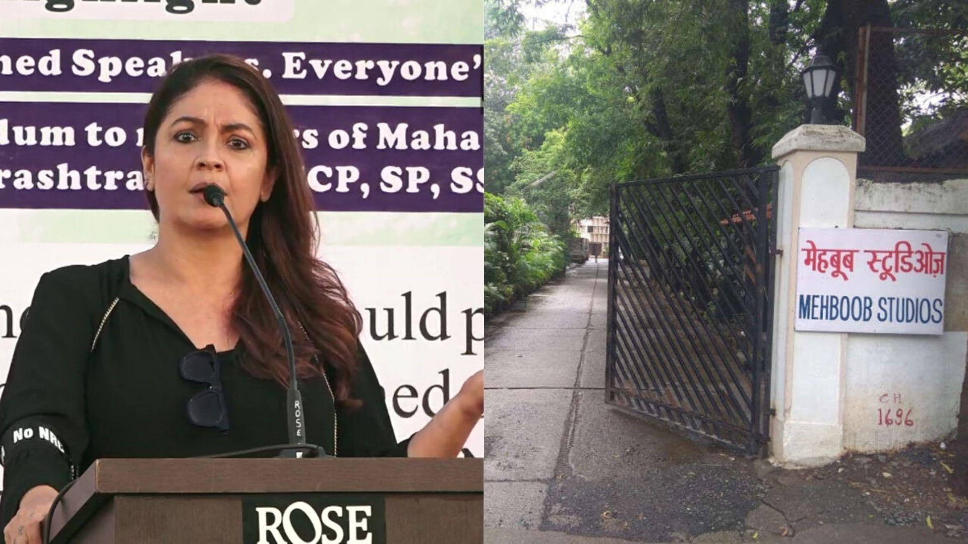 Mehboob Studios-COVID Row: Pooja Bhatt Calls Out Bandra Residents