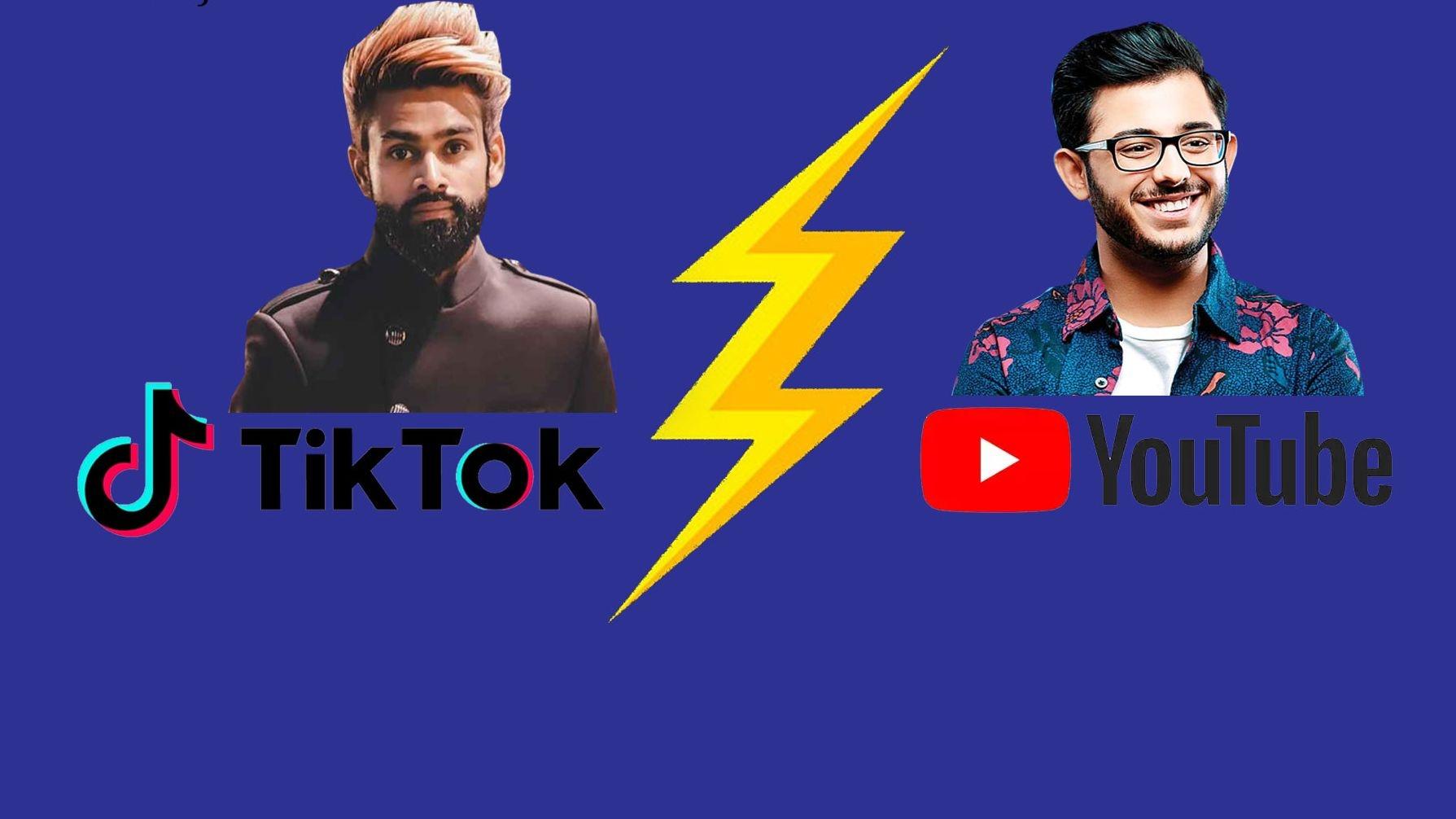#YouTubeVsTikTok: Row Between CarryMinati-Amir Siddiqui, Explained