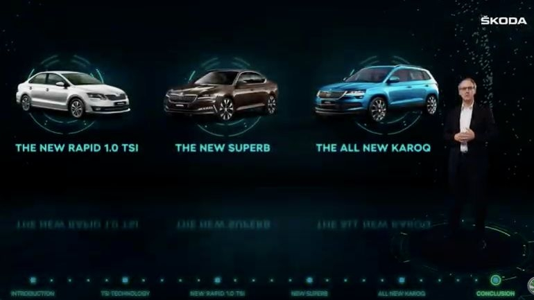 Skoda India Launches Karoq SUV, Rapid Superb With New Engines