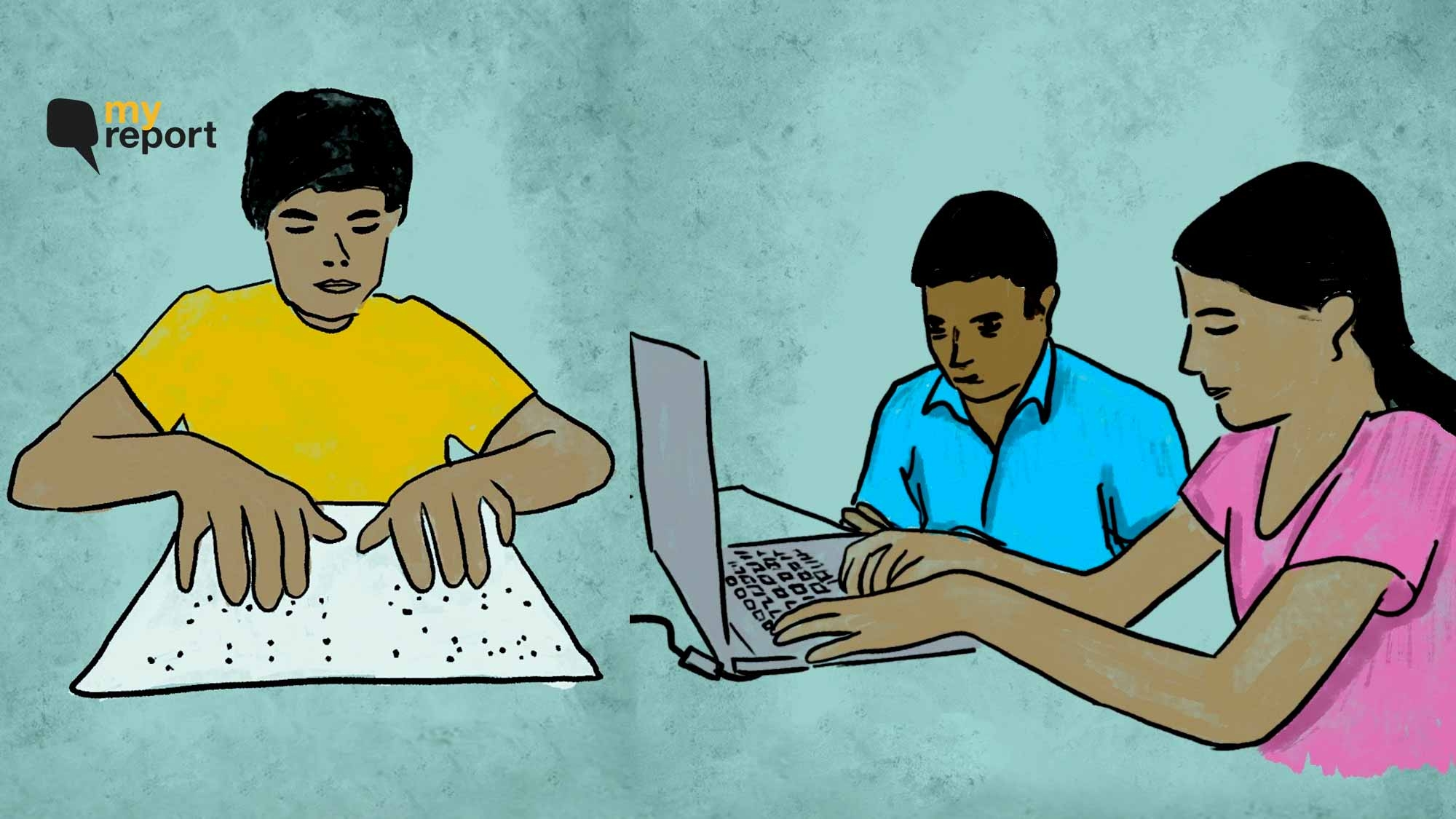 'How Will We Write Online Exams?': DU's Visually Impaired Students