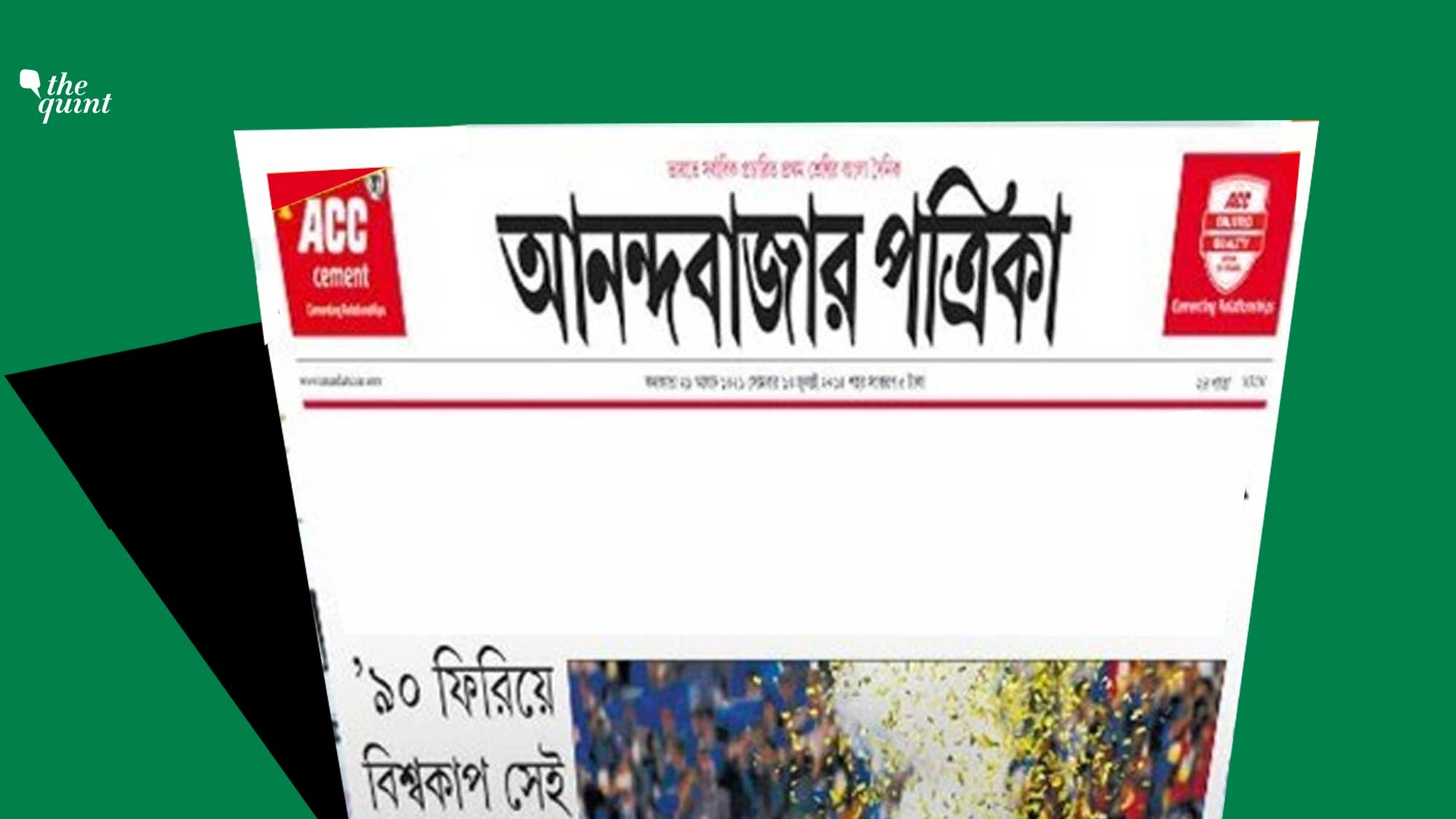 Anandabazar Patrika Editor Resigns, Days After Cops Summoned Him