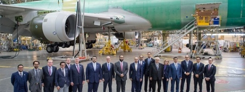 Saudi Arabian Military Industries and Boeing Form JV