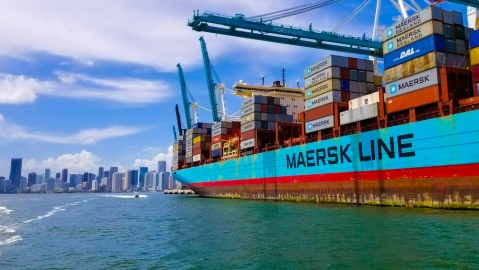 Maersk Links Middle East in New Transatlantic Service