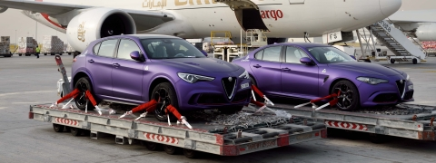 Watch: Emirates Moves Alfa Romeos for Stars