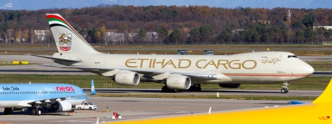 Etihad Offloads 5 Planes to DHL