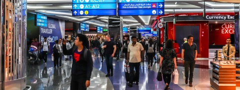 DXB Hits 3.8 Million Passengers for August