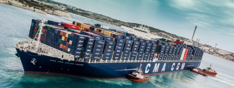 CMA CGM Estimates Low Sulphur to Cost Additional $160/TEU