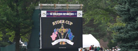 Emirates Takes Centre Stage at Ryder Cup