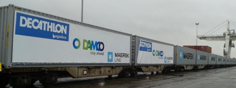 Damco Rail Launches Weekly China to Europe Block Train Service