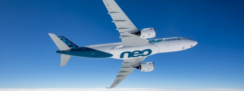 Airbus A330-800 Takes to the Skies for the First Time