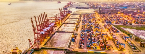 Giant New Saudi Port Begins Construction