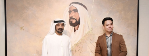 'From the Heart of Zayed' Unveiled at Emirates HQ