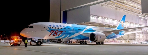 Boeing Delivers its 787th 787 Dreamliner
