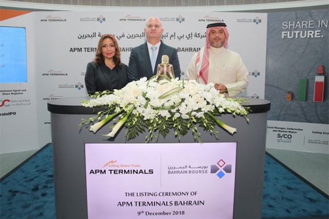 APMT Begins Trading on Bahrain Stock Exchange