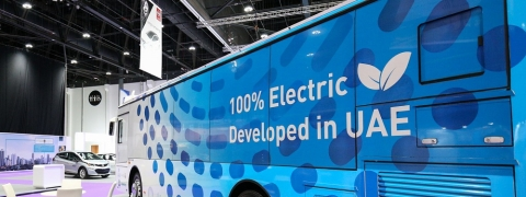 Masdar Rolls Out Middle East's First All-Electric Bus Service