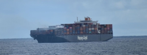 Yantian Express En Route to Freeport