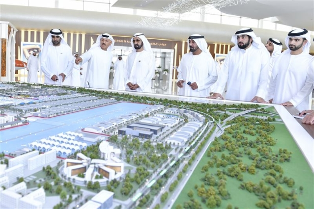 Mohammed bin Rashid visits Dubai South Aviation District