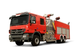 Bristol Unveils Made in UAE FireTruck